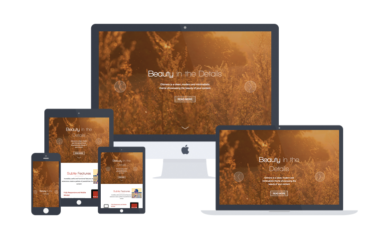 creation ou refonte de site web responsive design