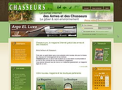 creation du site Internet Chasseurs.pro